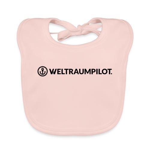 weltraumpilotquer - Baby Bio-Lätzchen