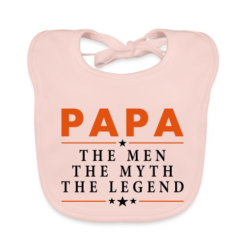 PAPA THE LEGEND - Baby Organic Bib