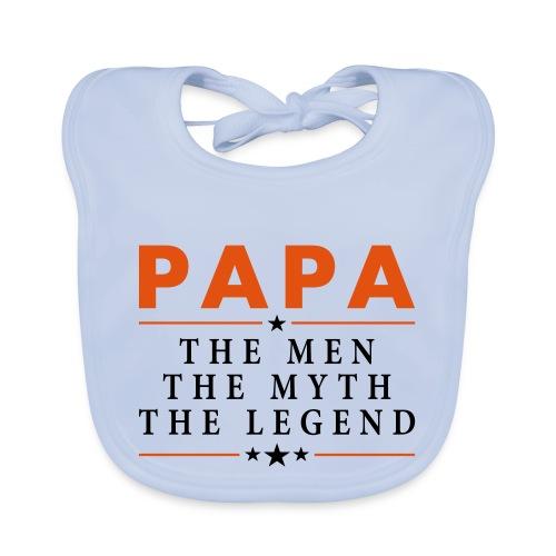 PAPA THE LEGEND - Baby Organic Bib