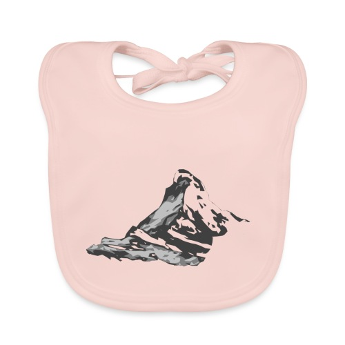 Matterhorn - Cervin Suisse - Baby Bio-Lätzchen