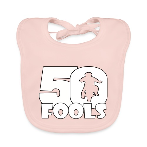50FOOLSLOGOSPREADSHIRT png - Bio-slabbetje voor baby's