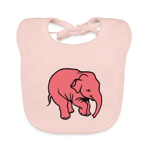 DT olifant - Bio-slabbetje voor baby's