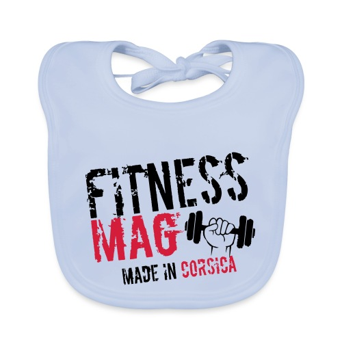 Fitness Mag made in corsica 100% Polyester - Bavoir bio Bébé
