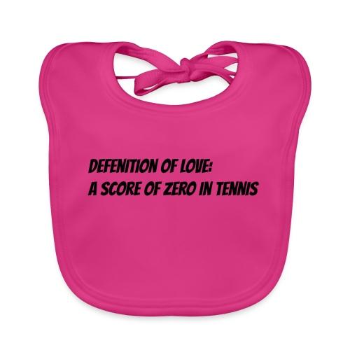 Tennis Love sweater women - Bio-slabbetje voor baby's