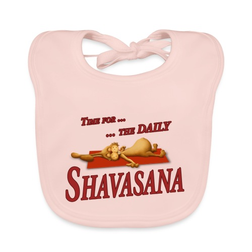 Time for Daily Shavasana - Baby Bio-Lätzchen