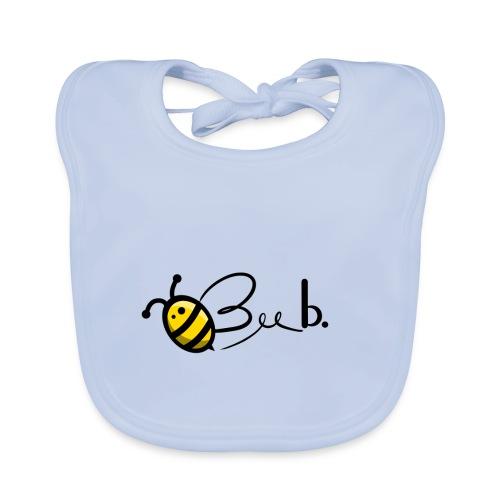 Bee b. Logo - Baby Organic Bib