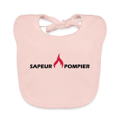 sapeur-pompier - Bavoir bio Bébé