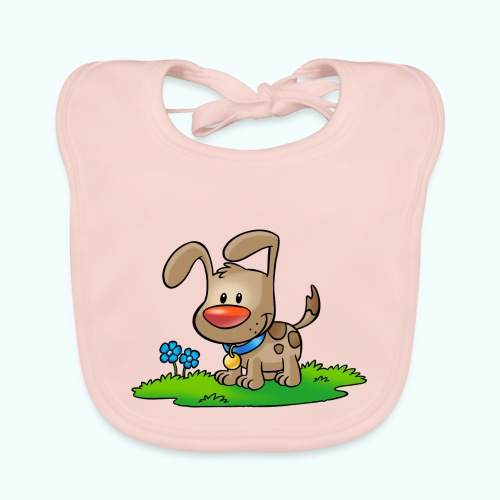 doggy 01 - Baby Organic Bib