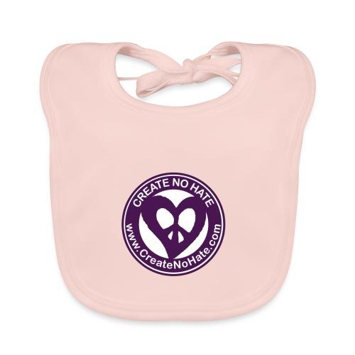 CreateNoHate Logo - Organic Baby Bibs
