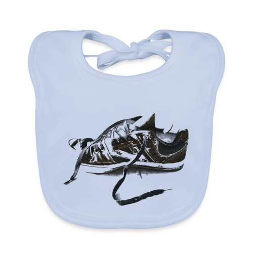 shoe (Saw) - Baby Organic Bib