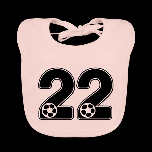 foot numero 22 - Baby Organic Bib