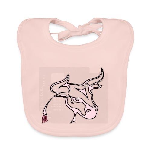 prm design taureau 2 - Bavoir bio Bébé