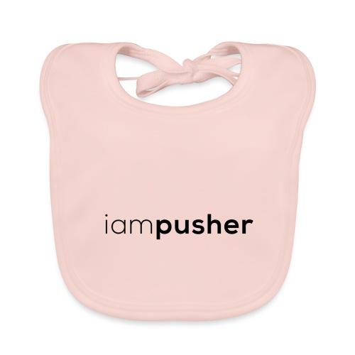 IAMPUSHER - Bavaglino ecologico per neonato