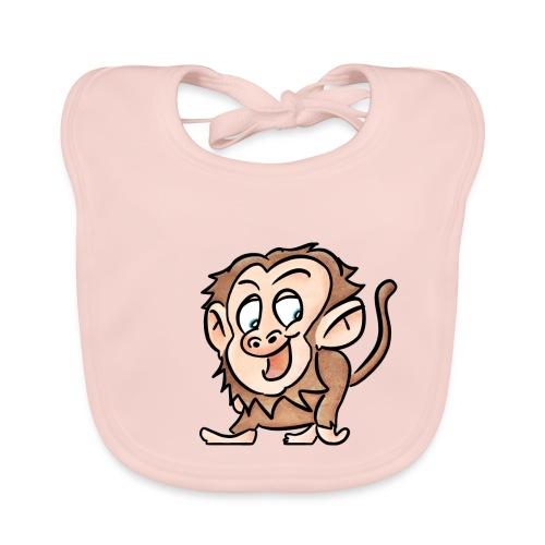 Aap - Bio-slabbetje voor baby's