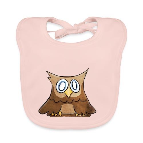 Owl - Bio-slabbetje voor baby's