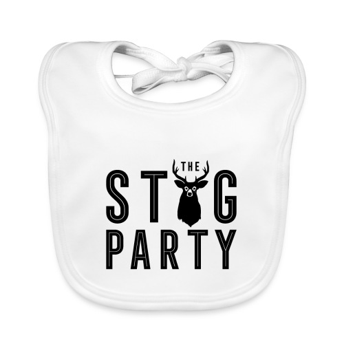 THE STAG PARTY - Baby Organic Bib