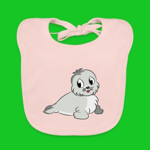 Zeehondje - Bio-slabbetje voor baby's