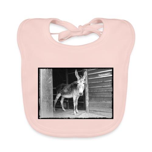 Zickenstube Esel - Baby Bio-Lätzchen