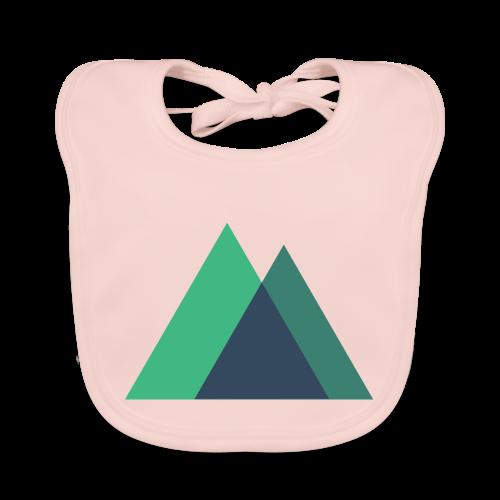 Mountain Logo - Baby Organic Bib