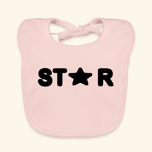 Star of Stars - Baby Organic Bib