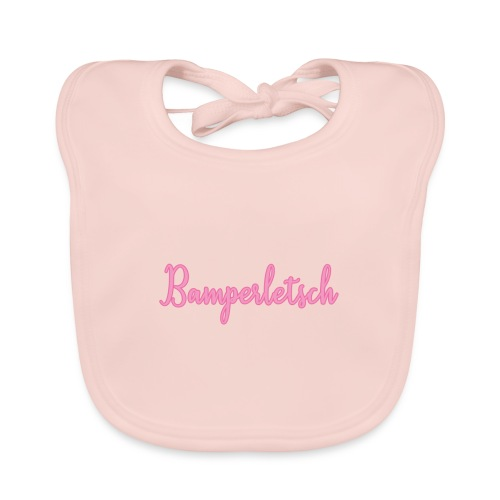 Bamperletsch in Pink - Baby Bio-Lätzchen