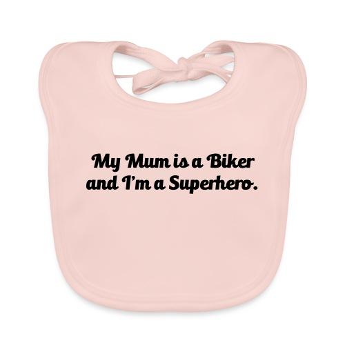 My Mum is a Biker - Vauvan luomuruokalappu