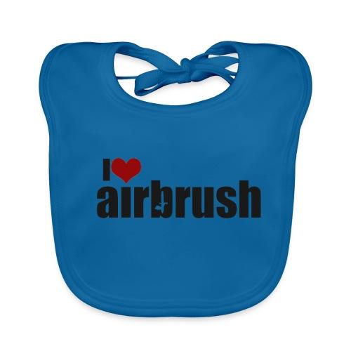 I Love airbrush - Baby Bio-Lätzchen