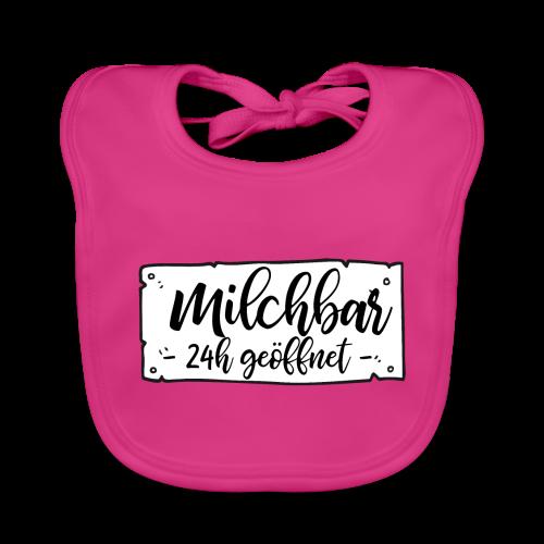 Milchbar 24h geöffnet - Baby Bio-Lätzchen