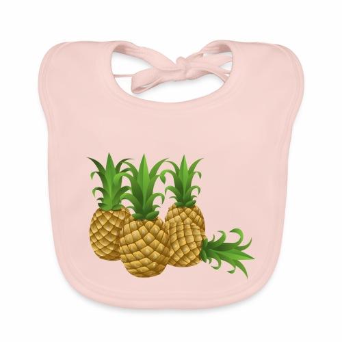 Ananas - Baby Bio-Lätzchen
