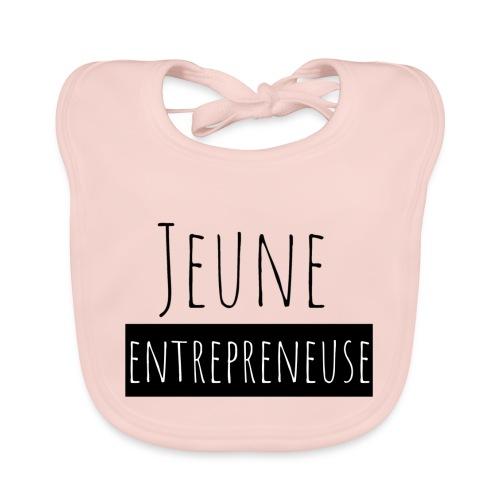 Jeune Entrepreneuse - Bavoir bio Bébé