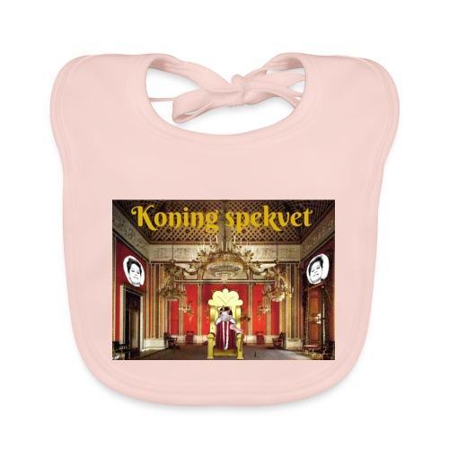 Koning Spekvet - Bio-slabbetje voor baby's