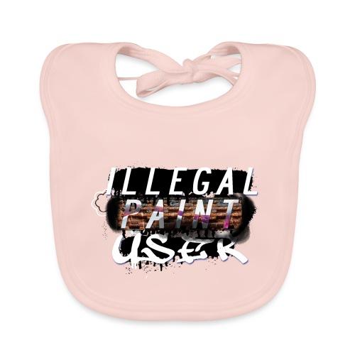 illegal paint user - Organic Baby Bibs