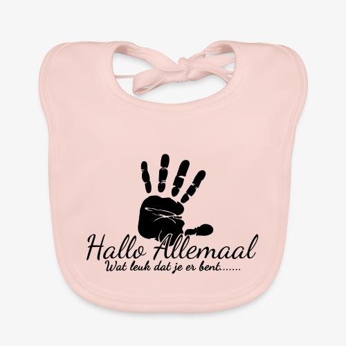 Hallo Allemaal - Bio-slabbetje voor baby's