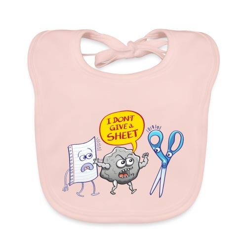 Pierre fâchée donne pas feuille papier aux ciseaux - Organic Baby Bibs