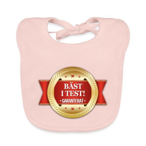 Bäst i test - Garanterat - Ekologisk babyhaklapp