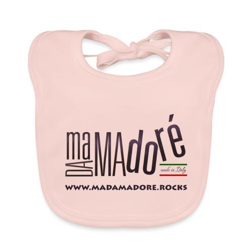 T-Shirt Premium - Uomo- Logo S Standard + Sito - Bavaglino ecologico per neonato
