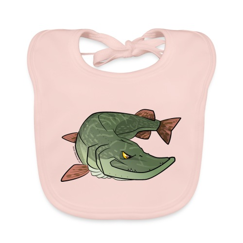 Red River: Pike - Baby Organic Bib