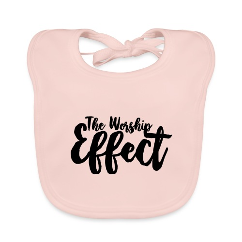 The Worship Effect LOGO Black - Organic Baby Bibs