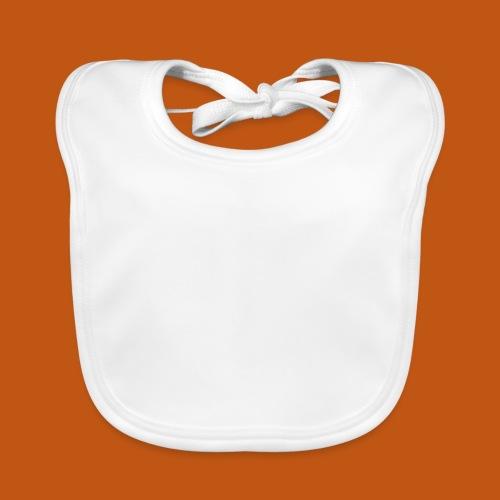 Motocross Enduro Motorrad 01_weiß - Baby Bio-Lätzchen
