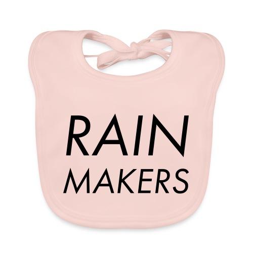 rainmakertext - Vauvan luomuruokalappu