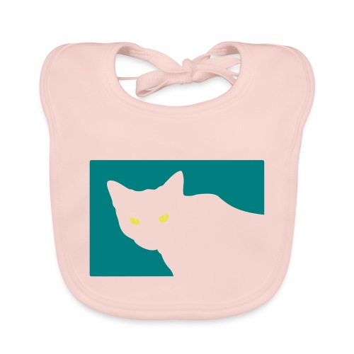 Spy Cat - Baby Organic Bib