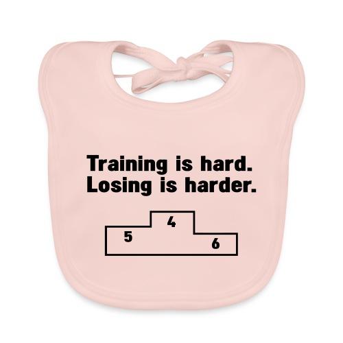Training vs losing - Baby Organic Bib