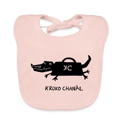 Handtaschenkrokodil - Baby Bio-Lätzchen