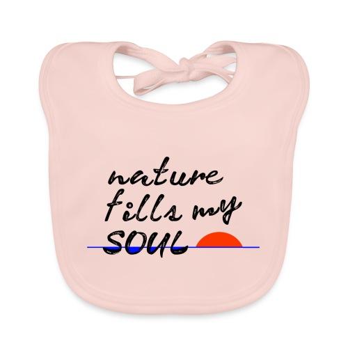 nature fills my soul - Bio-slabbetje voor baby's