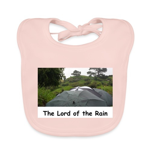 The Lord of the Rain - Neuseeland - Regenschirme - Baby Bio-Lätzchen