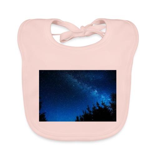 sterrenhemel afdruk/print - Bio-slabbetje voor baby's