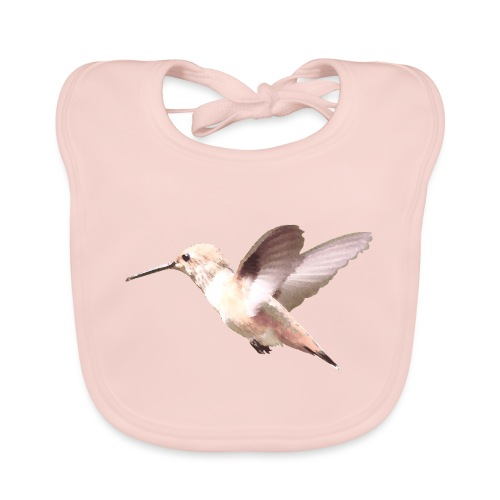 Hummingbird by Lajarin Dream - Babero ecológico bebé