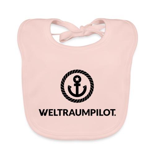 weltraumpilot - Baby Bio-Lätzchen