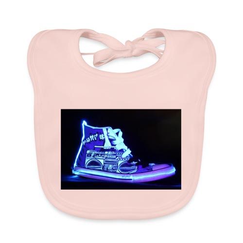Jordan Schuh Lightpainting - Baby Bio-Lätzchen