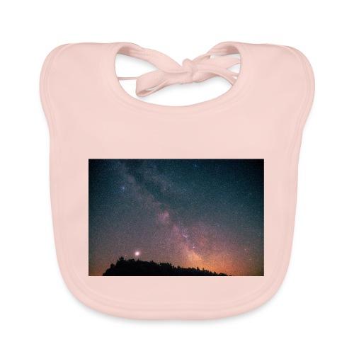 Milchstraße Fotografie Galaktisches Zentrum - Baby Bio-Lätzchen